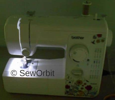 Brother JX40 Sewin Machine First Hand Review December 40 Amazing Brother Jx2517 Sewing Machine Parts