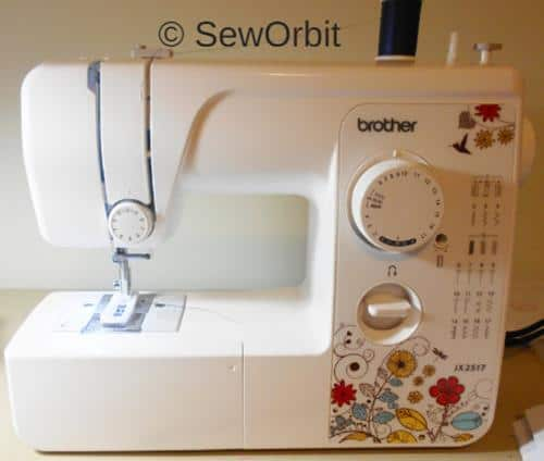 Brother JX40 Sewin Machine First Hand Review December 40 Gorgeous Brother 17 Stitch Sewing Machine