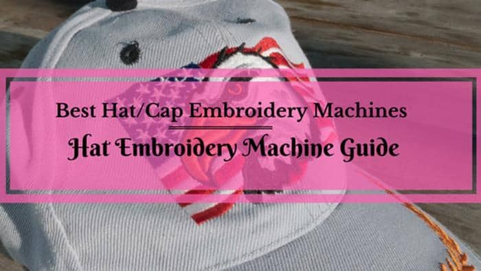 featured image of top rated hat embroidery machines