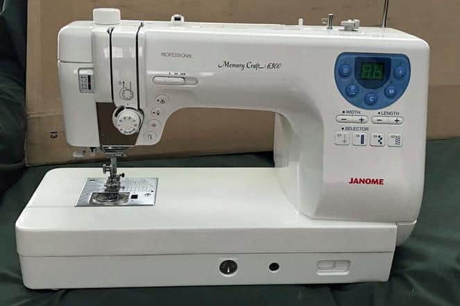 Janome Memory Craft 6300p Review: Who should buy it? (November 2019)